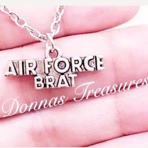 ⛱Air Force Brat Necklace
